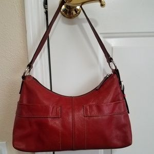 Beautiful Red womens Fossil purse
